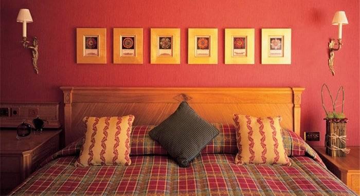 cosy bedroom at celtic manor hotel