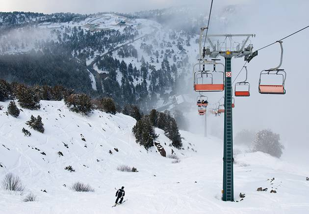 Alternative ski - Cyprus