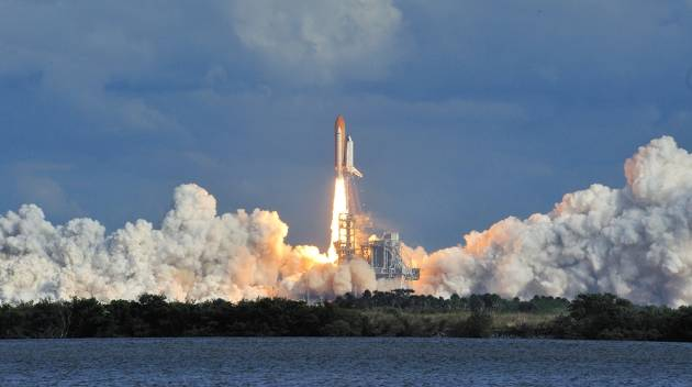 space shuttle atlantis blasted off from ksc on how many occasions - photo #39