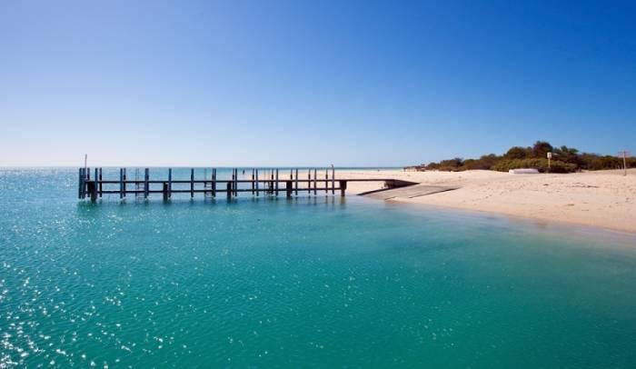 Monkey Mia beach, Western Australia