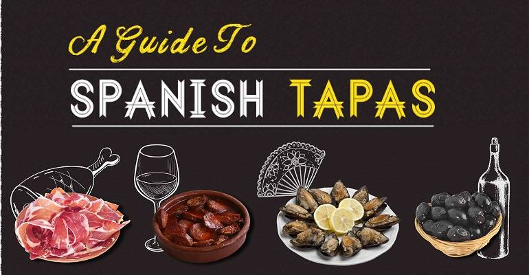 Regional tapas guide infographic