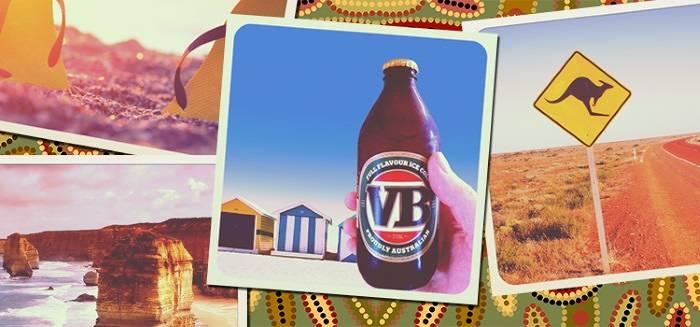 Australia VB Beer