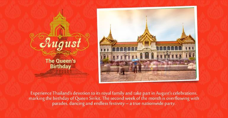 August - Queen's Birthday