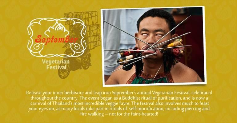 September - Vegetarian Festival