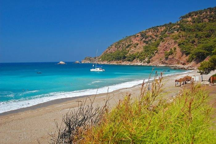 Kabak Bay in Turkey