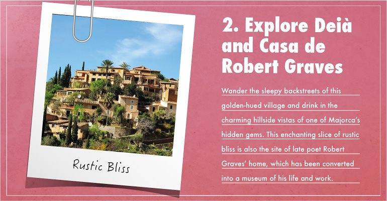 Explore Deia and Casa de Robert Graves