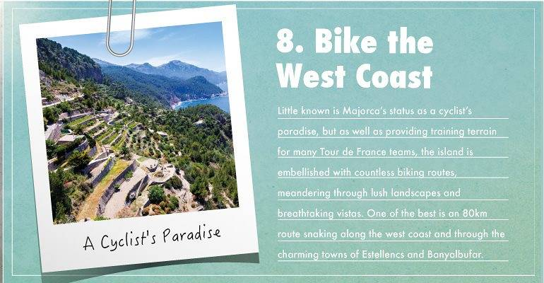 Bike the west coast