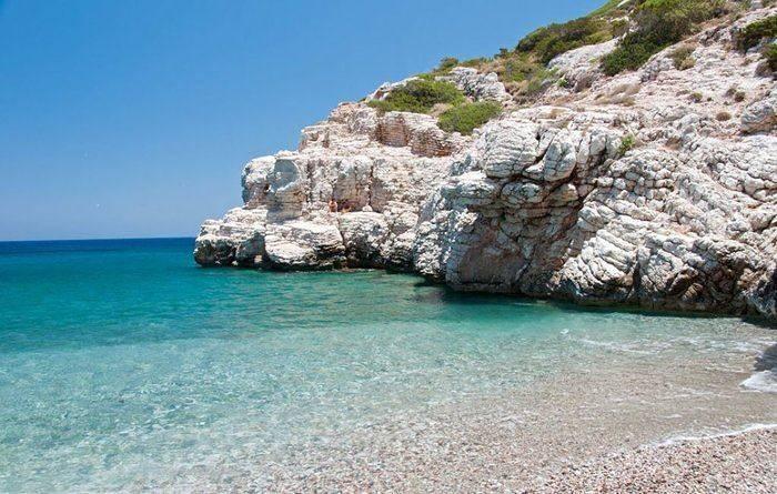 Kopria Beach, Rhodes