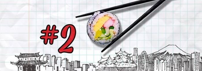 #2 Sushi in Tokyo