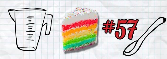 #57 Rainbow Cake