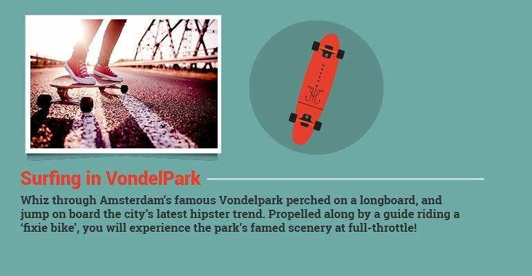 Surfing in Voldelpark
