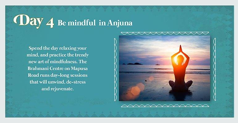 Day 4: Be mindful in Anjuna
