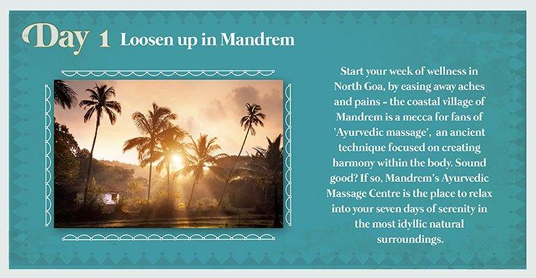 Day 1: Loosen up in Mandrem