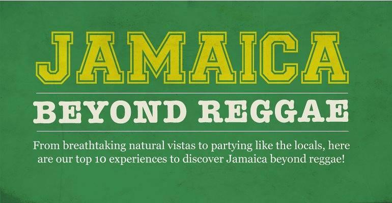 Jamaica Beyond Reggae infographic
