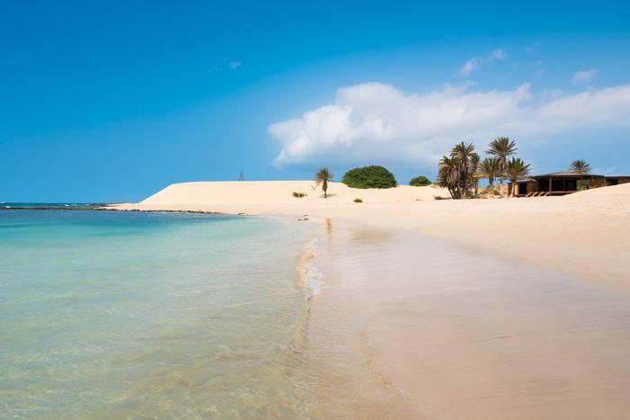 A beach on Boa Vista