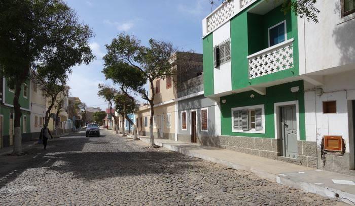 Street in Sal Rei