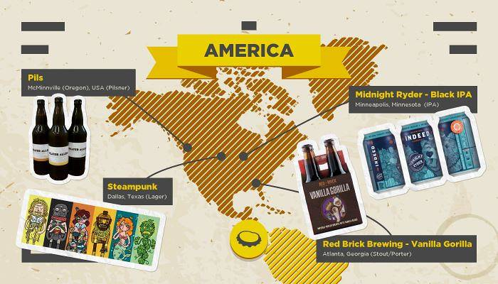 Craft Beers USA