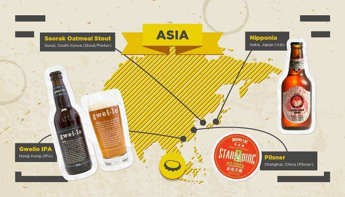 Craft Beers Asia