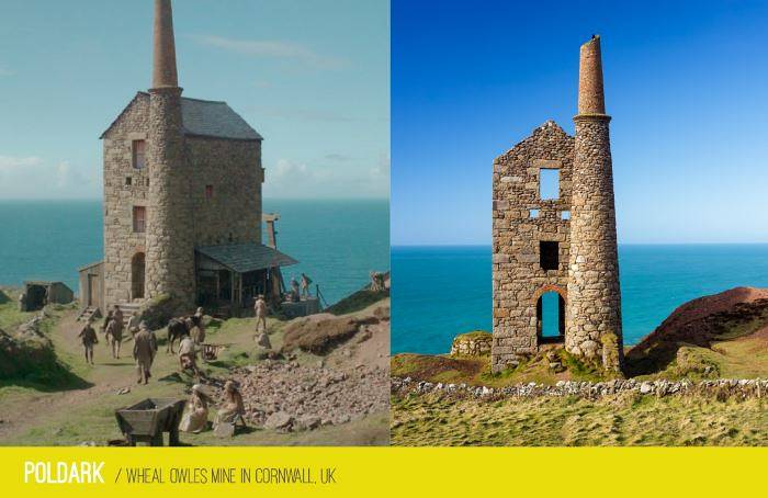 Poldark - Cornwall
