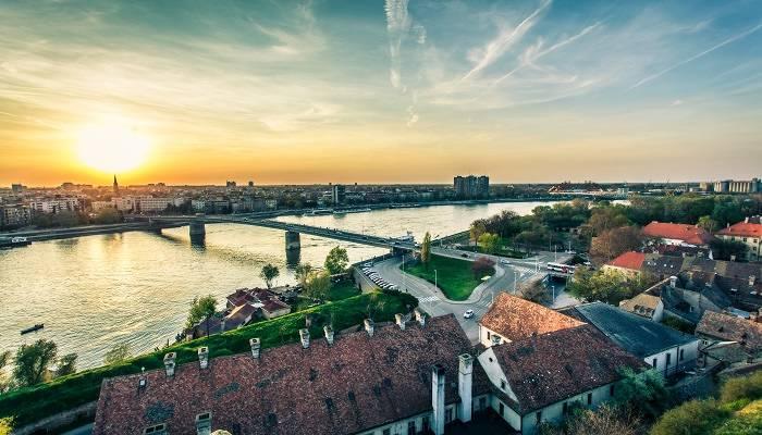 Novi Sad in Serbia