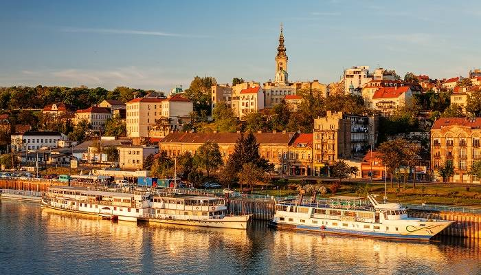 Belgrade on the Danube