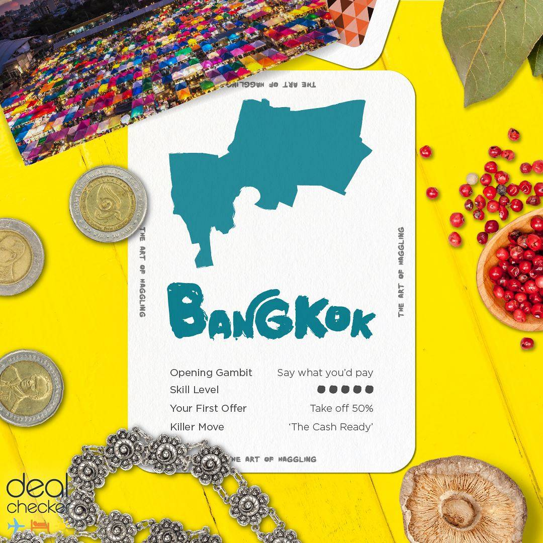 The Art of Haggling - Bangkok Card
