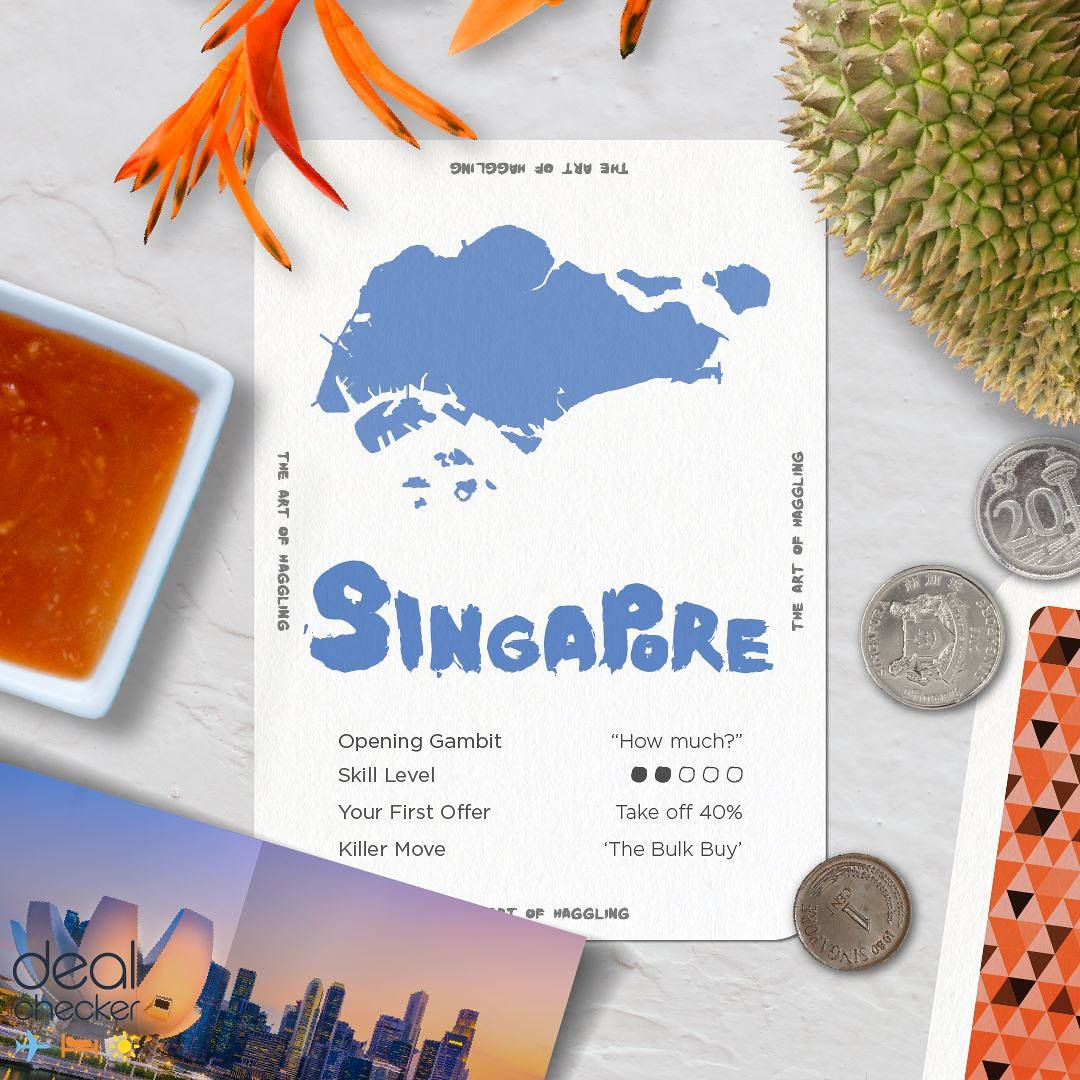 The Art of Haggling - Singapore Card