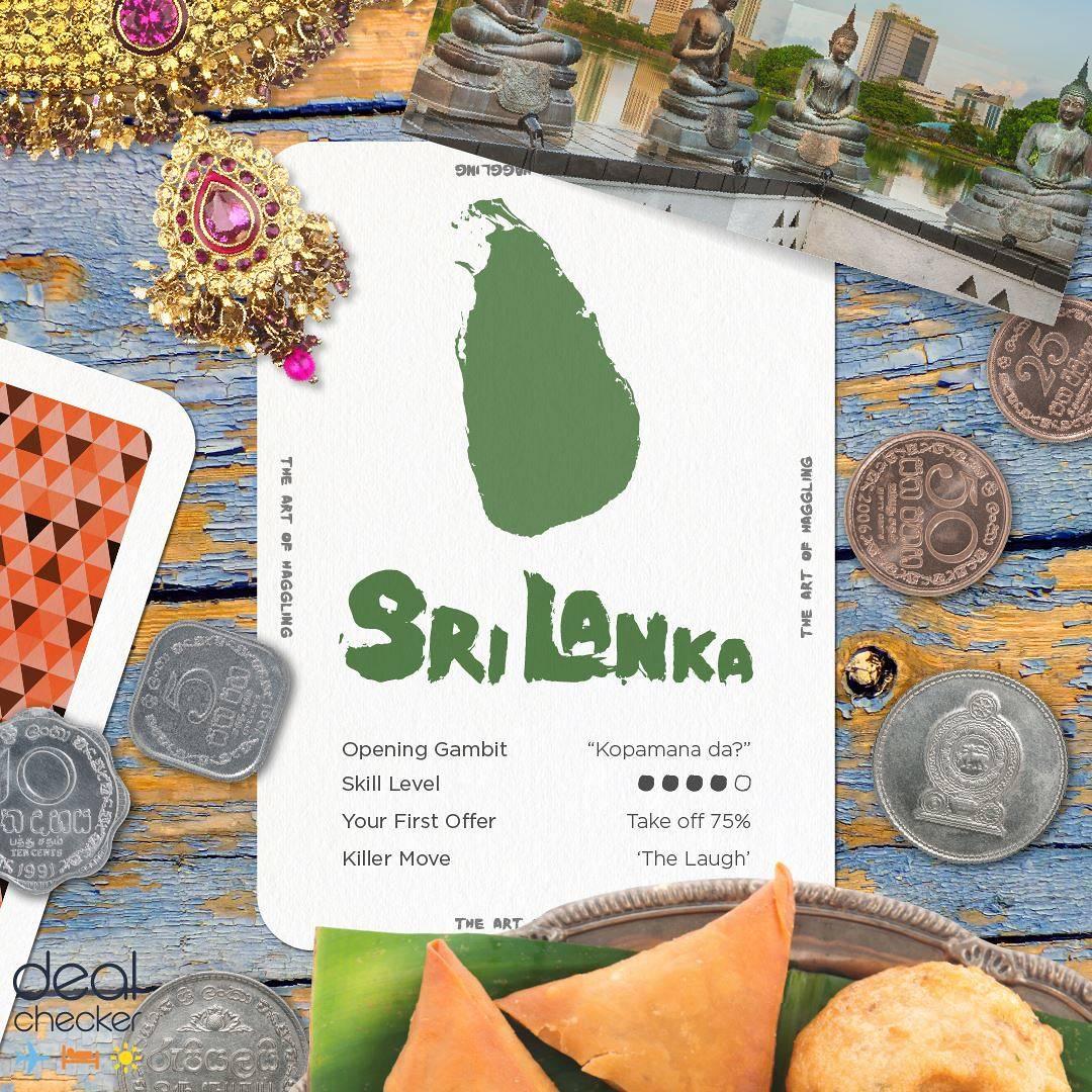 The Art of Haggling - Sri Lanka Card
