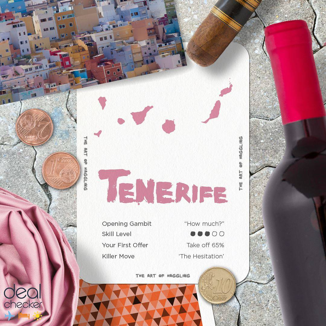The Art of Haggling - Tenerife Card