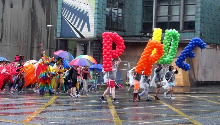 Belfast Pride march