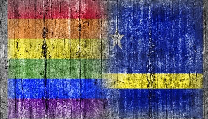 Pride flag Curacao
