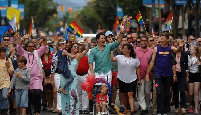 Vancouver Pride march 2016