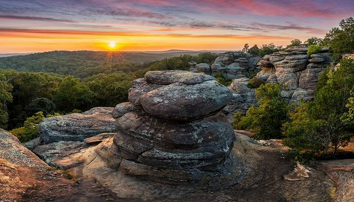 Shawnee National Park Illinois