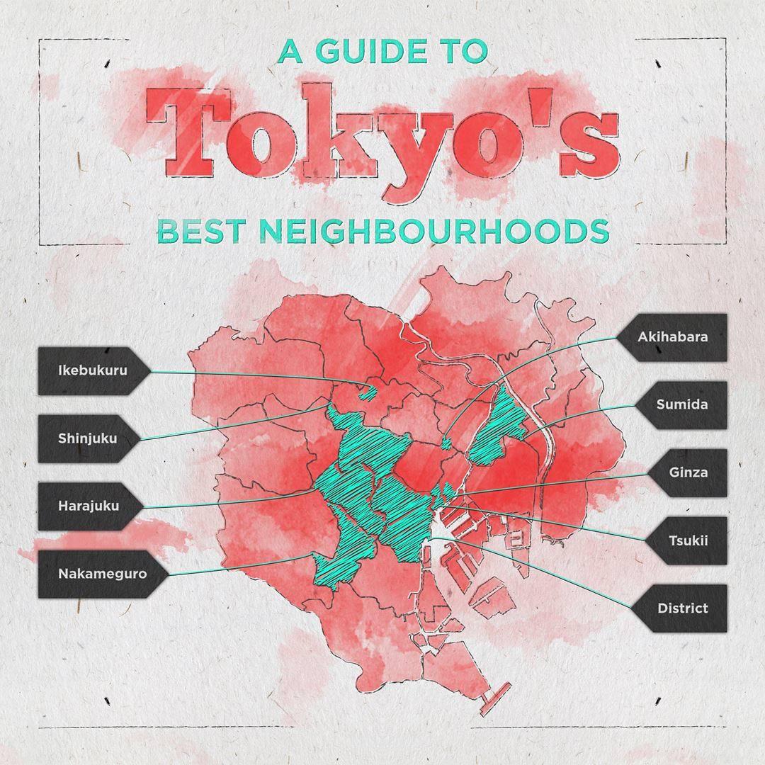 Tokyo Neighbourhood Guide header image
