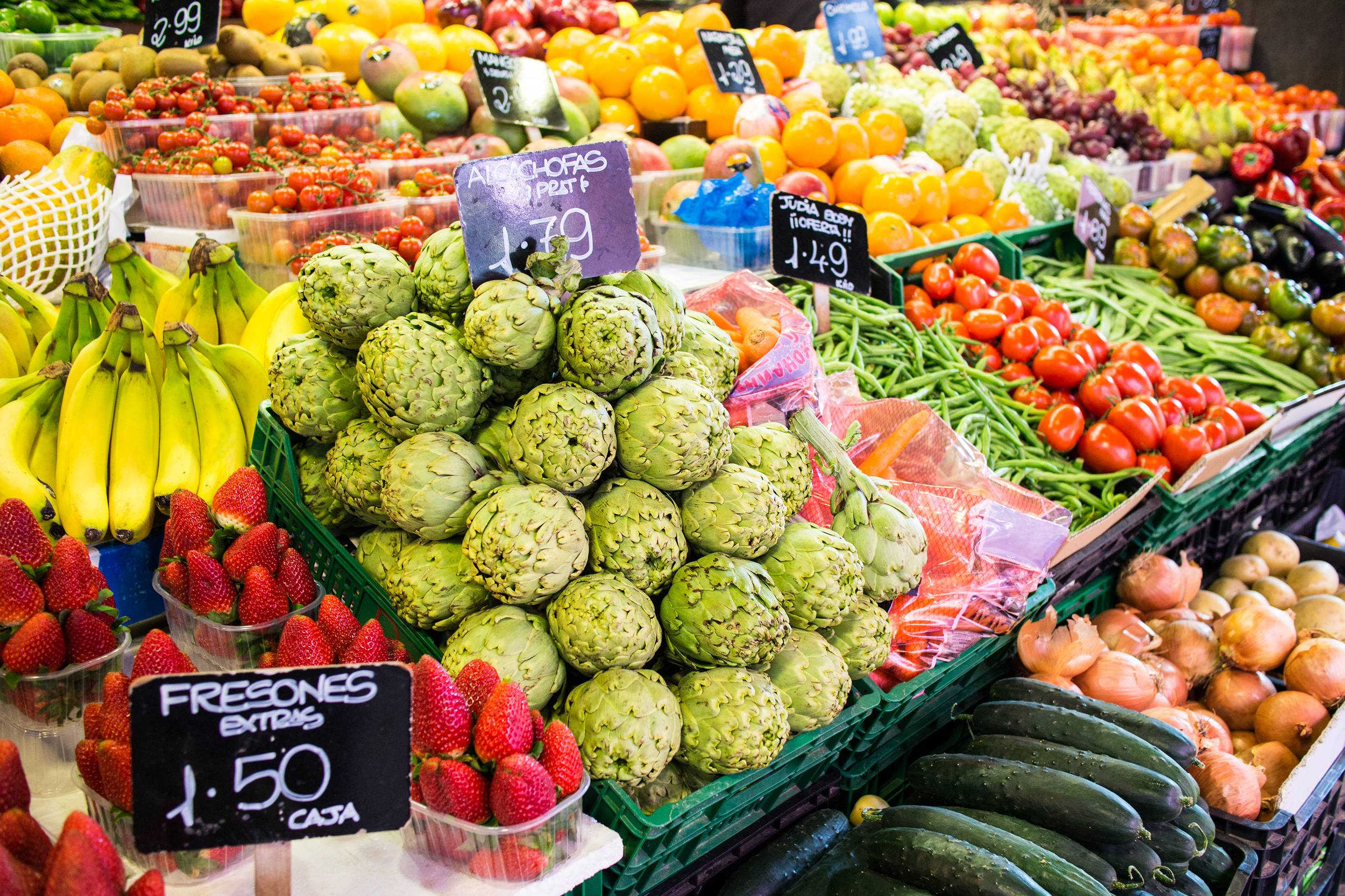 La Boqueria Food Market