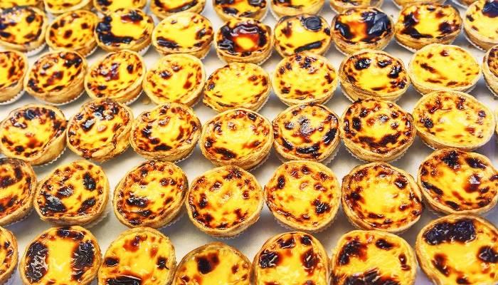 lisbon's famous pateis de natas