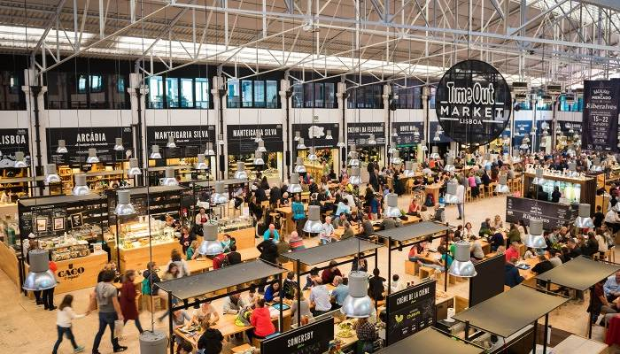 lisbon's timeout food market