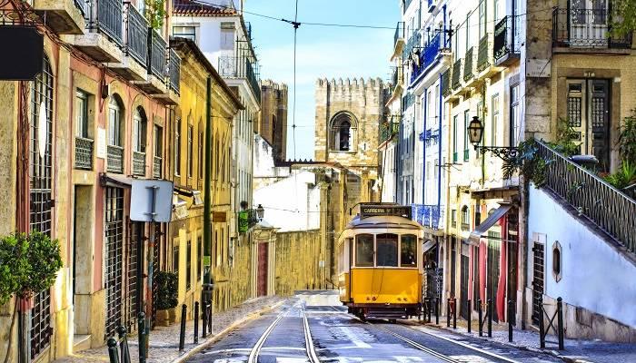 the famous lisbon tram