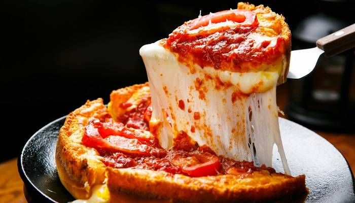 chicago deep dish pizza