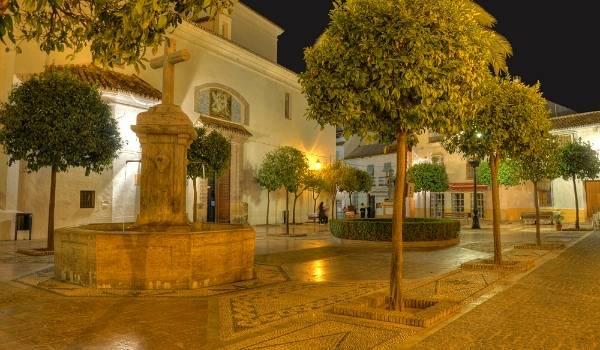 Marbella old square
