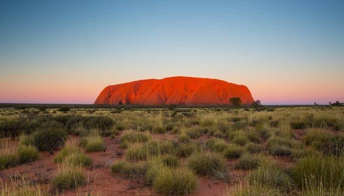 picture of Uluru