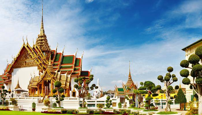 picture of the grand palace in Bangkok