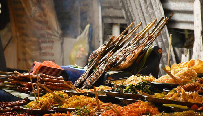 picture of a food stall