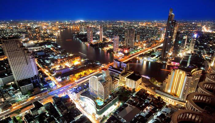 picture of a view of Bangkok