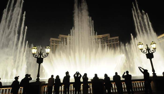 picture of the bellagio fountains