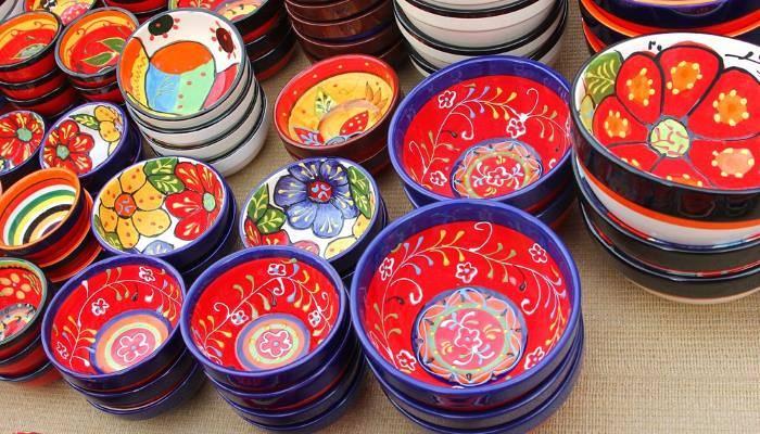 pictureof ornate plates