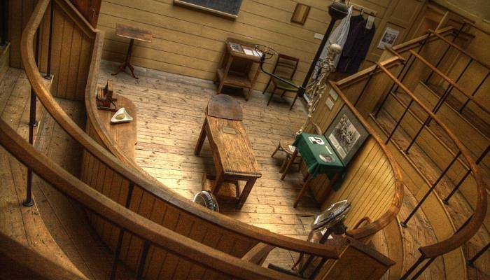 picture of the old operating theatre
