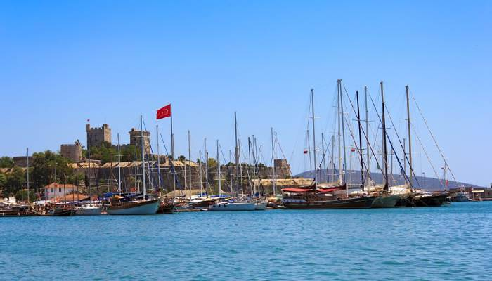 picture of Bodrum castle