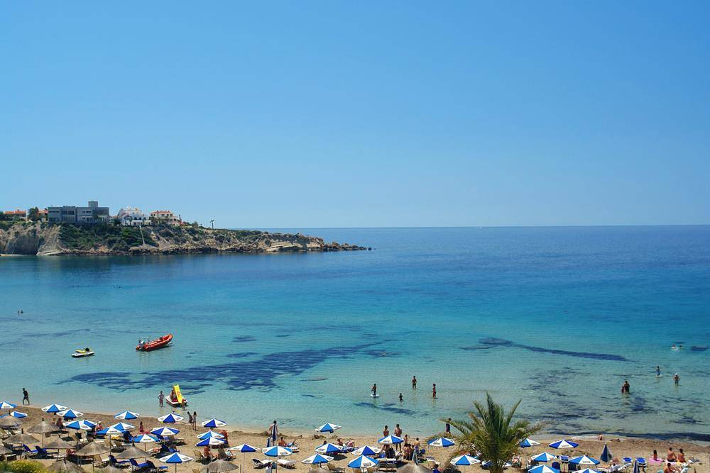 picture of Coral Bay in Cyprus