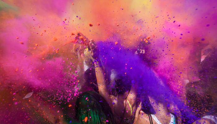 picture of the Holi Festival